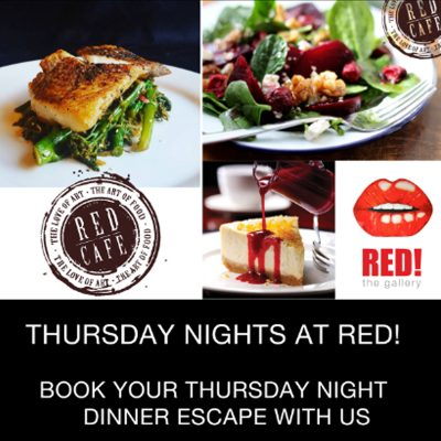 THURS 26 Sept 2019 – Dinner Escape at Red!